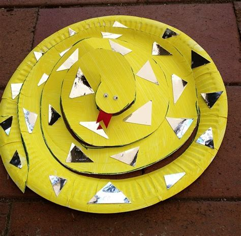 paper plate snake craft paper plate animals wide bay