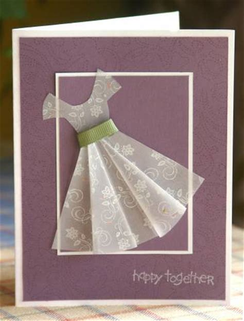 vellum craft paper su vellum dress re make by mayodino cards and paper