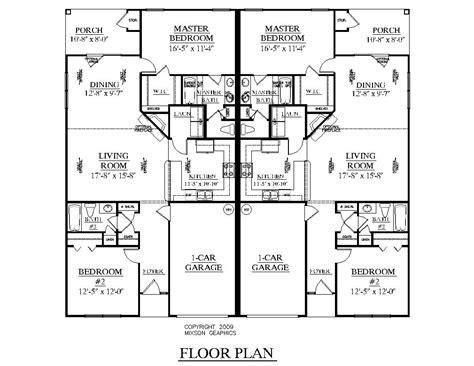 duplex plans for narrow lots 100 duplex narrow lot floor plans plan 59323nd