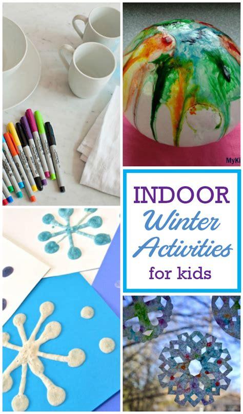 indoor crafts for indoor winter activities for design dazzle bloglovin
