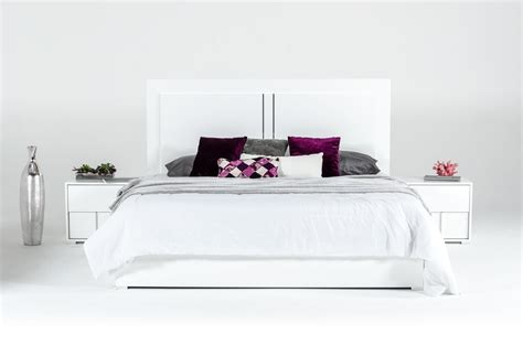 modern italian bedroom furniture modrest nicla italian modern white bedroom set