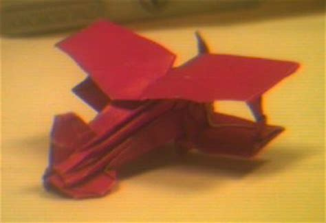 origami biplane an origami biplane