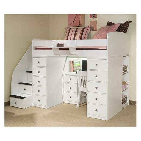 bunk bed with stairs and desk bunk bed with storage stairs and desk 28 images bunk