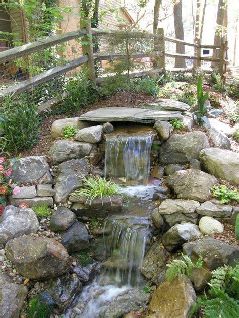 backyard pond ideas with waterfall best 20 garden waterfall ideas on diy