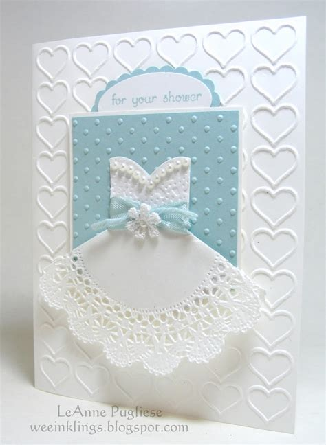 bridal shower cards to make wee inklings fms188