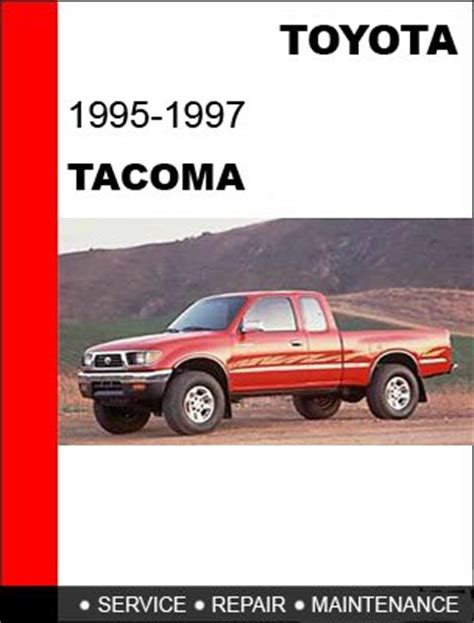online auto repair manual 1996 toyota tacoma windshield wipe control 1995 1996 1997 toyota tacoma service repair manual cd