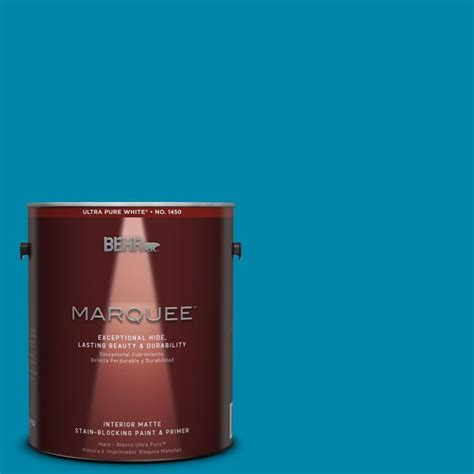behr paint colors turquoise behr marquee 1 gal mq4 53 tibetan turquoise one coat