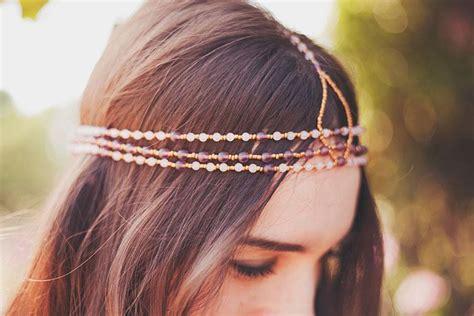 diy beaded headbands craft diy beaded headband paperblog