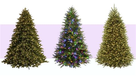 artificial lit trees 8 best artificial trees in 2017 pre lit