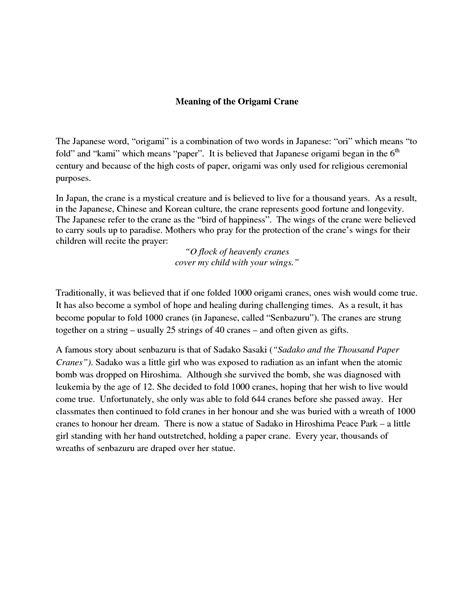 origami cranes symbolism origami crane meaning driverlayer search engine
