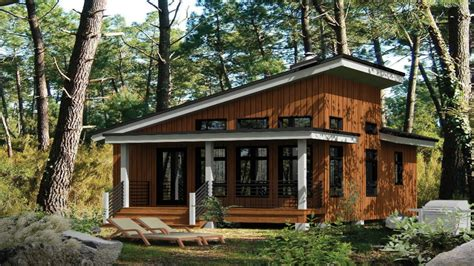 small modern cabins contemporary small cabin house plans