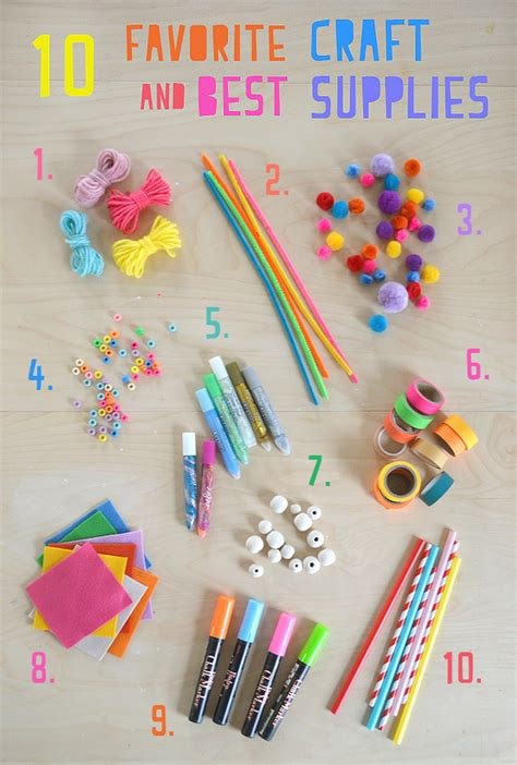arts and craft supplies for my 10 favorite craft supplies for artbar