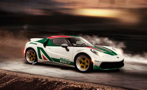 Artist renders a spiritual successor to the Lancia Stratos