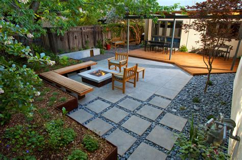 modern backyard thigpen residence modern landscape sacramento by