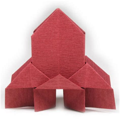 religious origami how to make a traditional origami church page 1