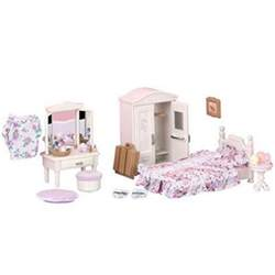 sylvanian families bedroom furniture sylvanian families guest bedroom set toys thehut