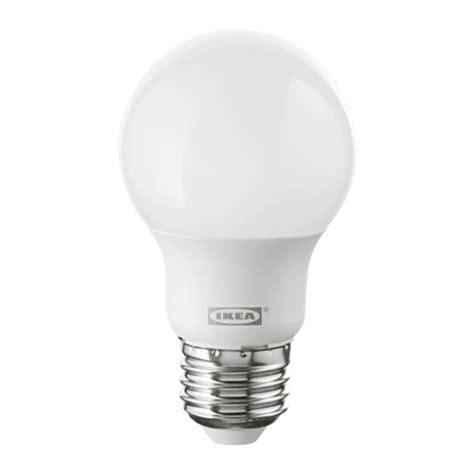 led white light bulb ryet led bulb e26 400 lumen ikea