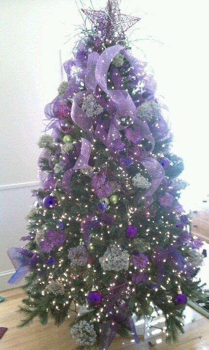 purple and green decorations 1000 ideas about purple tree on