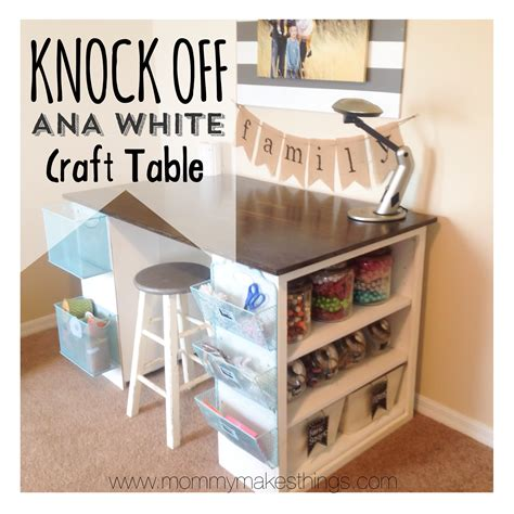 craft table white craft table