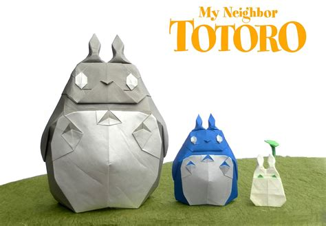 origami totoro this week in origami black friday edition