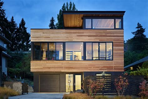 Narrow Lot House Plans modern house plans for small lots modern house