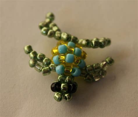 3d beaded turtle pattern free beading patterns beadsis