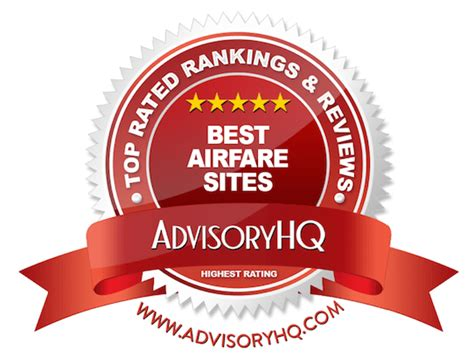 top 6 best airfare sites ranking best airline booking - Best Airfare Sites