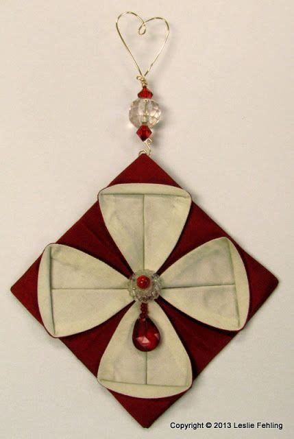 fabric origami ornaments 17 best images about fabric origami on origami