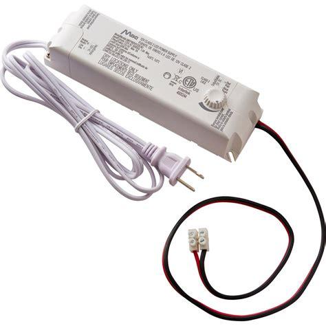 led lighting power supply commercial electric 60 watt 12 volt led lighting power
