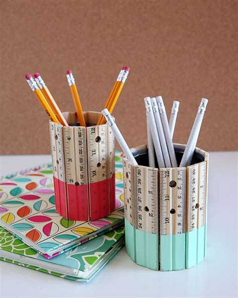 pencil holder craft ideas for 10 creative ruler crafts hative