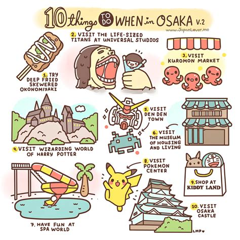 Bright Led Lights by 10 Things To Do In Osaka Japan Hand Luggage Only