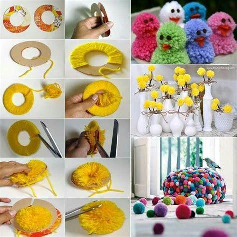 how to make handmade crafts for home decoration perlas de estambre manualidades