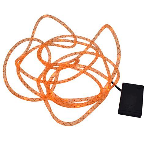 orange led rope lights orange mesh rope light 15 foot