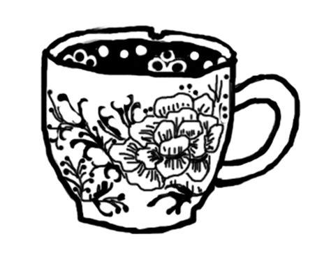 teacup rubber st tea cup drawing www pixshark images