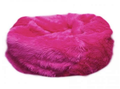 Pink Bean Bag Chair by Fuzzy Pink Bean Bag Chairs