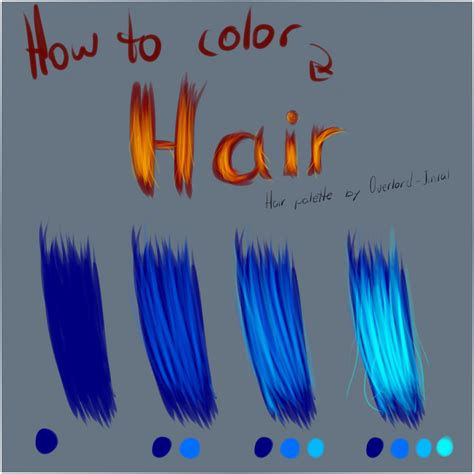 how to shade hair how to color hair by candiewoods on deviantart