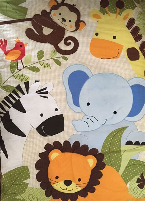 jungle cot bedding sets a cheeky monkey nursery
