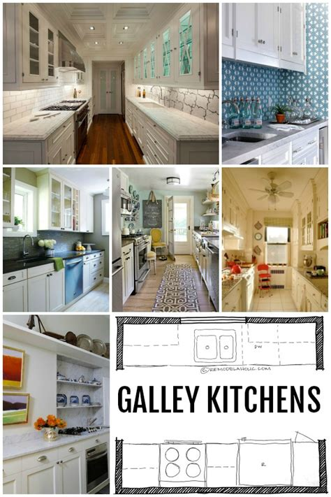 designing a galley kitchen can be kitchen design galley kitchen layouts via remodelaholic