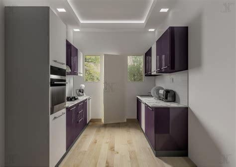 parallel kitchen design cranos parallel shape modular kitchen