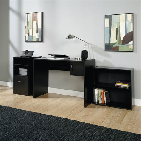 computer desk walmart mainstays mainstays l shaped desk with hutch finishes