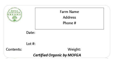 organic marketing tools mofga certification services
