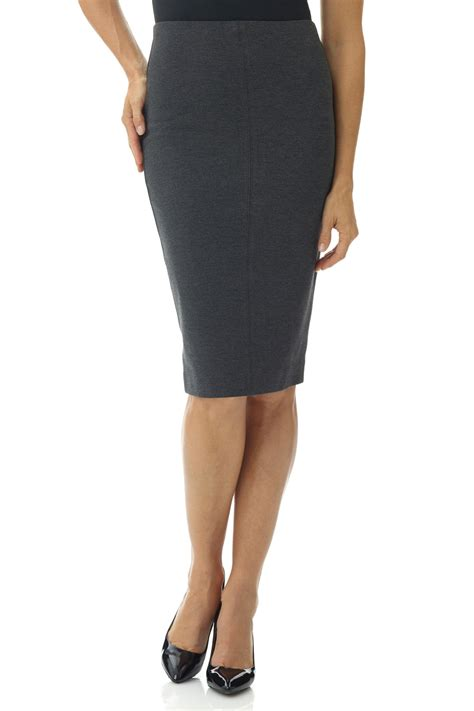 pull on knit pencil skirt rekucci s quot ease in to comfort quot pull on knit high