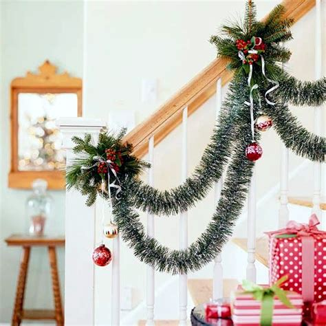 Bright Kitchen Color Ideas draped party garlands christmas decorations and ideas