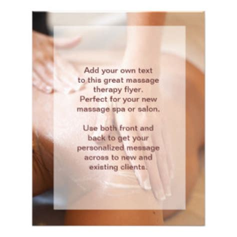 Massage Therapist Chair by 270 Massage Flyers Massage Flyer Templates And Printing