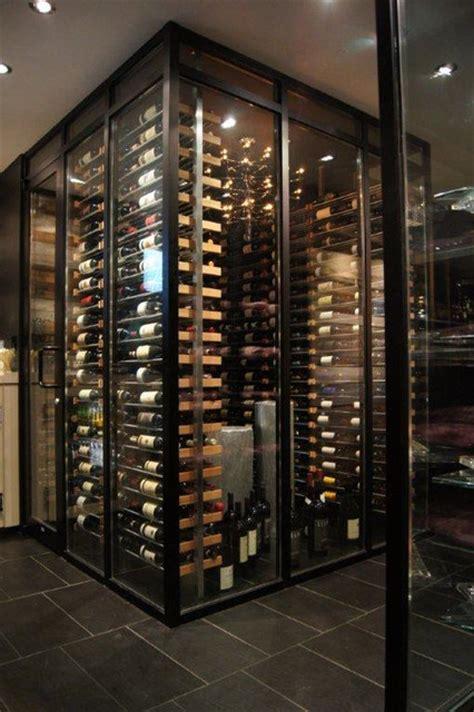 Millesime Racks In The Wine Cellar 7 Contemporary
