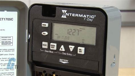 intermatic timer intermatic et1700 series time switch timing relay