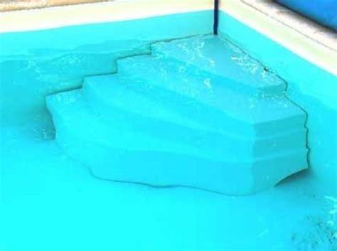 escalier piscine d angle cyb 232 le hauteur 80cm
