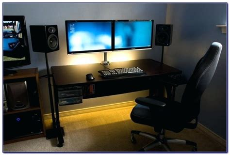 computer desk for two monitors best computer desk for monitors desk corner desk