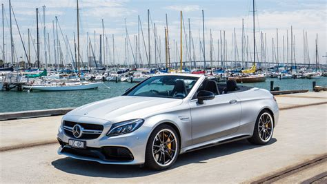 Mercedes Amg by 2017 Mercedes Amg C63 S Cabriolet Review Photos Caradvice