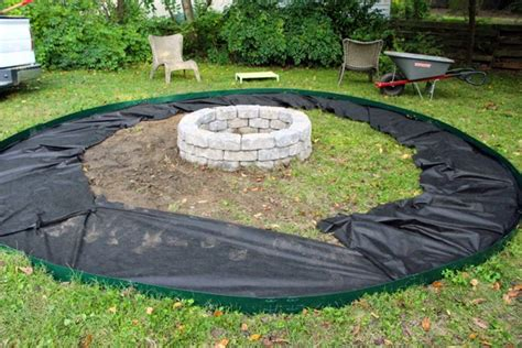 pea gravel pit some like a project easy for you diy pit